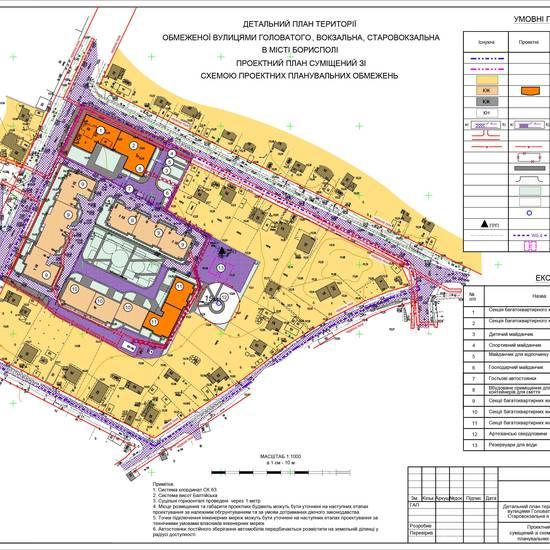 План житлового кварталу у м. Бориспіль