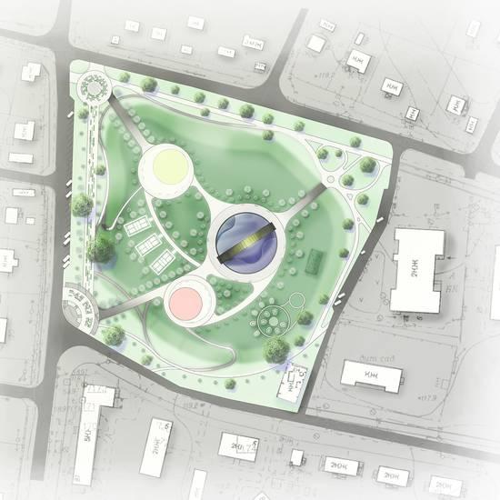 Концепція створення паркової зони