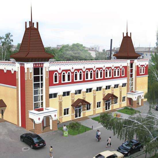 <strong>Реконструкція</strong> будівлі у м. Бориспіль