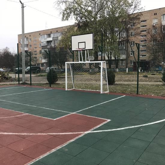 Благоустрій прибудинкової території у м. Борисп